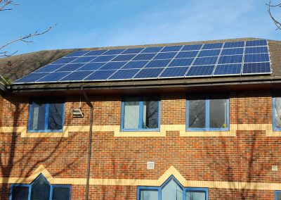 Solar Panel Installation Isle of Wight Council Offices, Newport